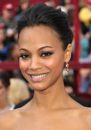 zoe saldana oscars 2010 beauty Best Oscars 2010 Hairstyles and Beauty Trends