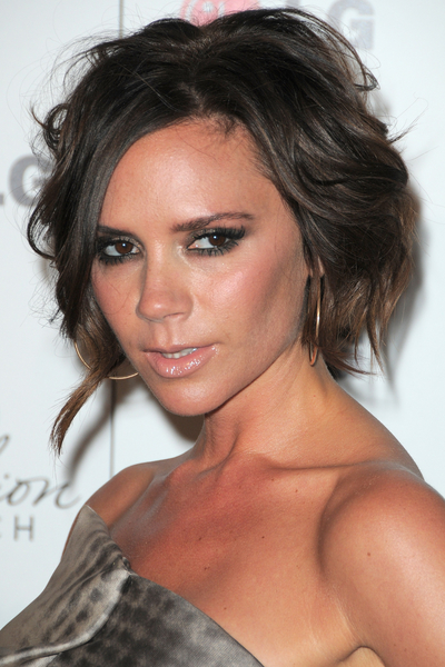 Victoria Beckhams Sultry Summer Bob Stylecaster