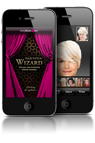 hairstyle wizard Our New iPhone App: The Hairstyle Wizard