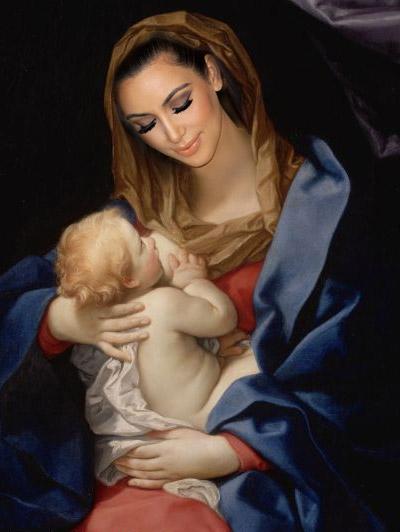 kim madonna article Whats Next For Kim Kardashian? Adoption