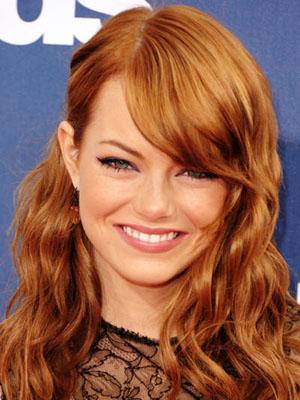 emmastonewella300400 2012 Golden Globes Hottest Hair Trends