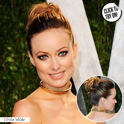 wella oscar olivia w Get The Hottest Oscar Hairstyles At Home!