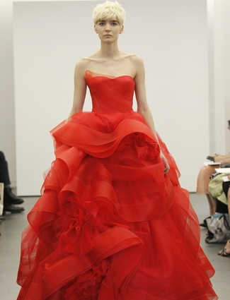 e0d3c49b2c4 Would You Wear A Red Wedding Dress