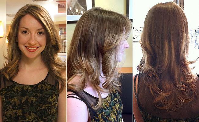 Megan's New Ombré Hair