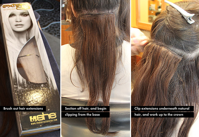 02 caro extensions Everything You Need To Know About Clip In Hair Extensions