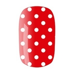 nail wrap white dots on red cropped proto custom 22 Putting The Fun Back In Beauty