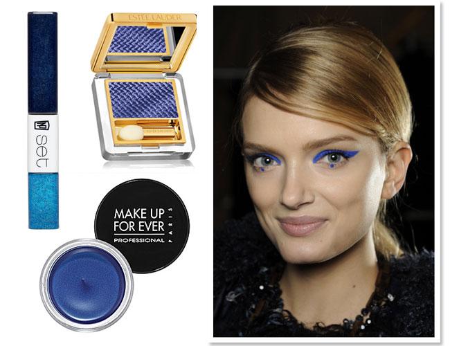 Anna Sui blue eyeliner