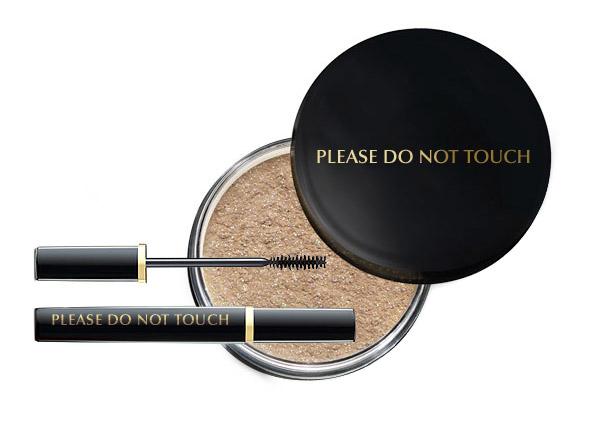 Do not touch makeup