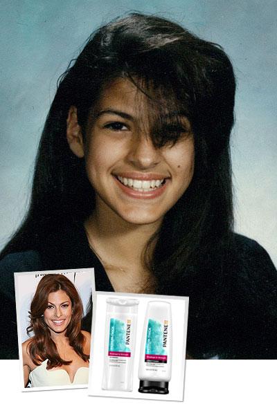 evamendez1 Eva Mendes & Our Editors Share Major Hair Makeover Moments