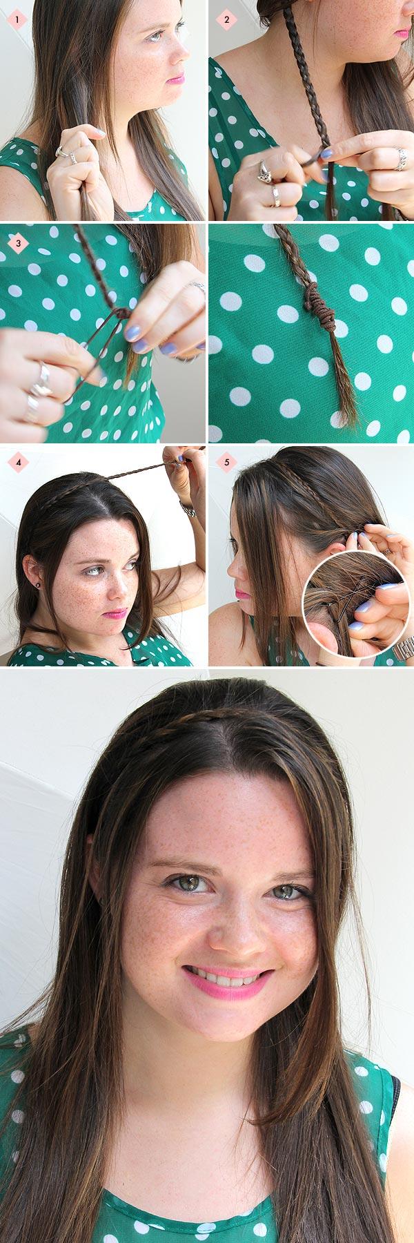 How To Braid Headband