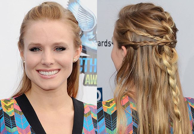 Kristen Bell Do Something Awards Braid