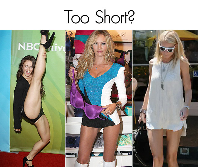 too short Can Shorts Ever Be Too Short?