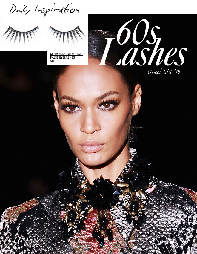 8354ab70f7d Daily Inspiration: Gucci's 60s-Inspired Lashes | StyleCaster
