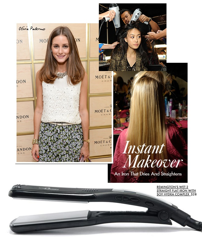 dryandstraight1 Instant Makeover: An Iron That Dries AND Straightens