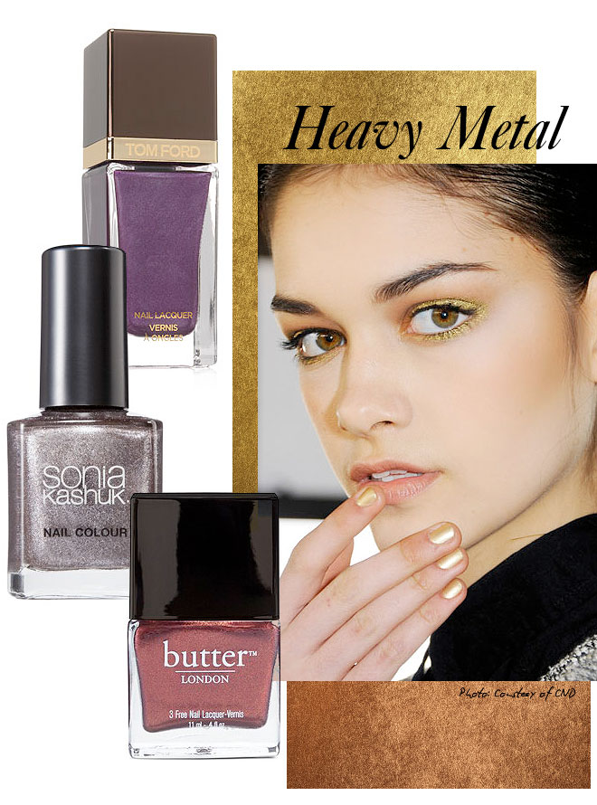 heavymetal Falls Hottest Nail Polish Trends