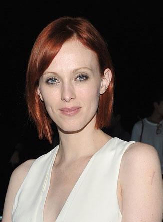 Karen Elson's chin-length bob