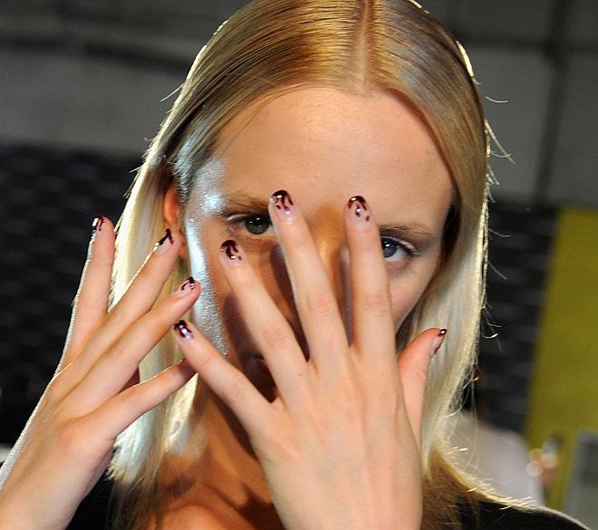 Prabal Gurung spring 2013 nails