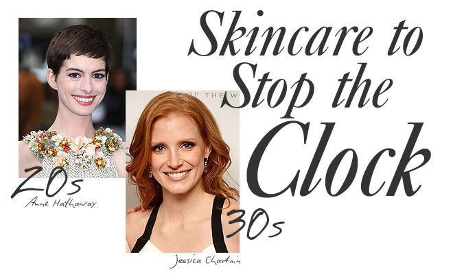 Skincare to stop the clock