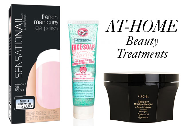 At-Home Beauty Treatments