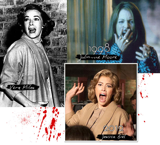 psycho 2 Scarlett Johansson and Jessica Biel Go Psycho