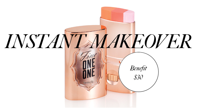 benefit 2 Instant Makeover: A 3 In 1 Blush