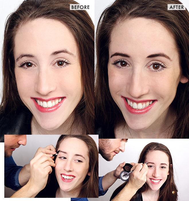 Brow makeover: Rachel's overplucked brows get plumped up