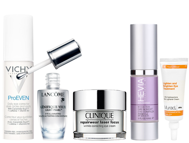 Eye creams for dark circles, crow's feet and under eye bags