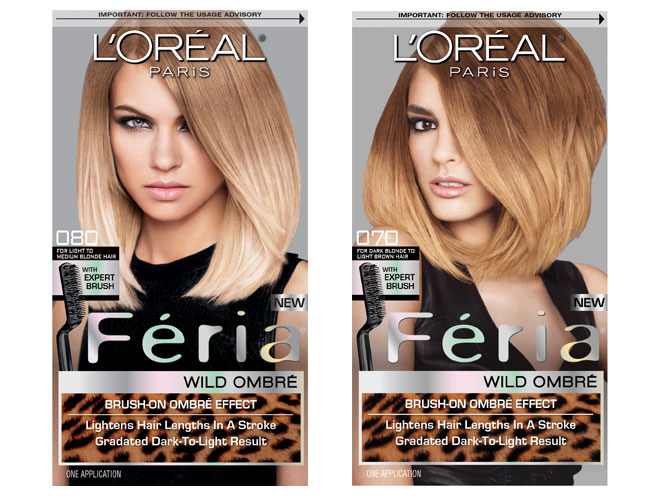 L'Oreal Paris Feria Wild Ombre hair color