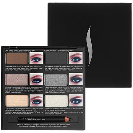 Sephora Collection Pro Lesson Palette: Smoky Eyes