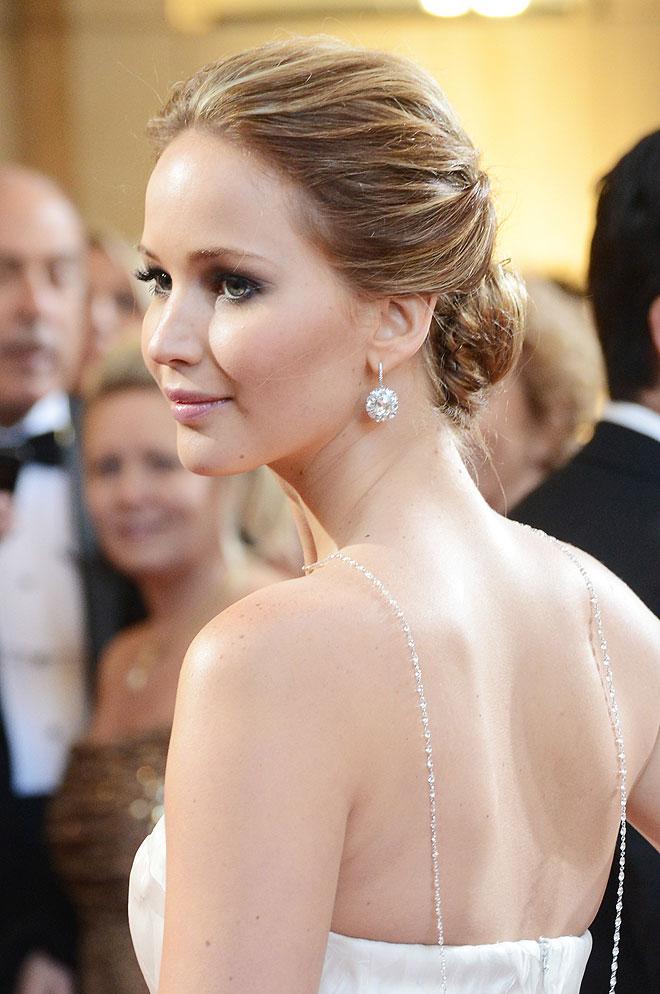 Jennifer Lawrence at the Oscars