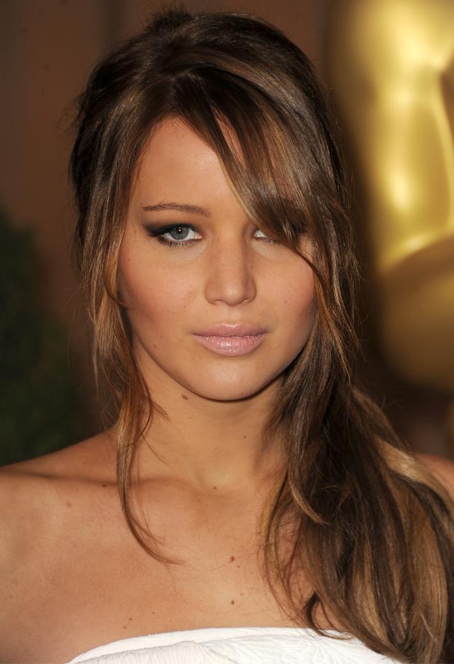New Hair Idea Jennifer Lawrences Ponytailfrench Twist Hybrid