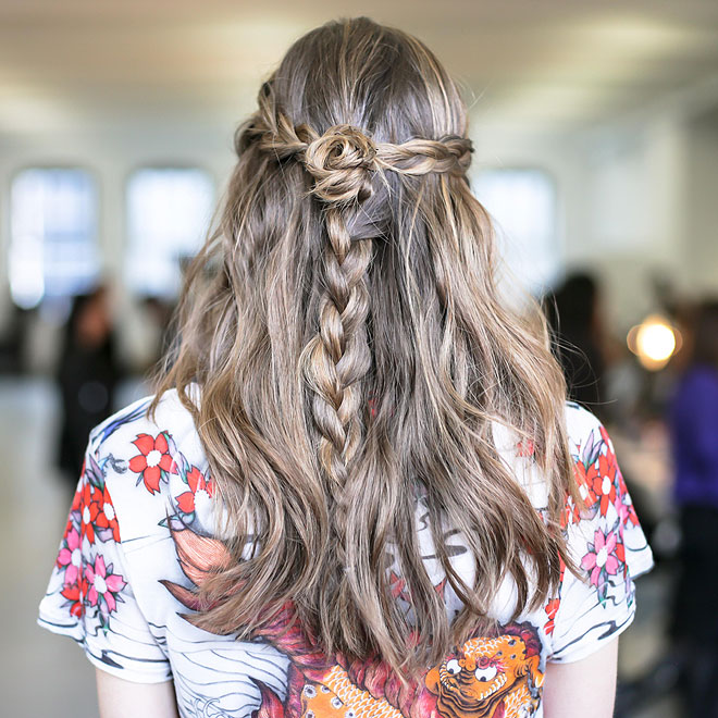 Get The Look Rodarte S Rocker Princess Hair Daily Makeover Stylecaster