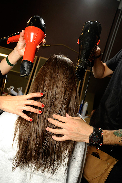 Daily styling with blow dryers can leave hair damaged