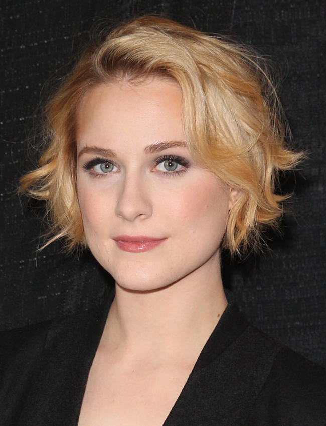 Photo: Getty Images  Evan Rachel Wood at Sundance