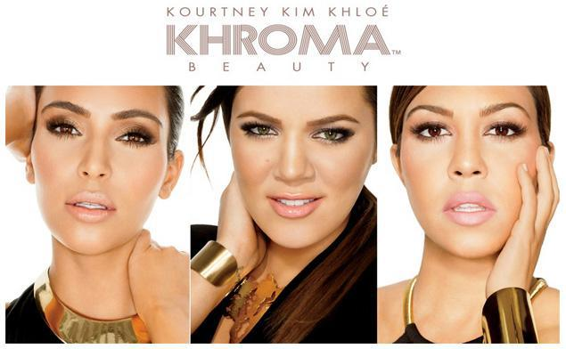 The Kardashians' Khroma Beauty campaign