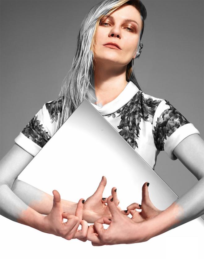 Kirsten Dunst on the cover of Bullett magazine