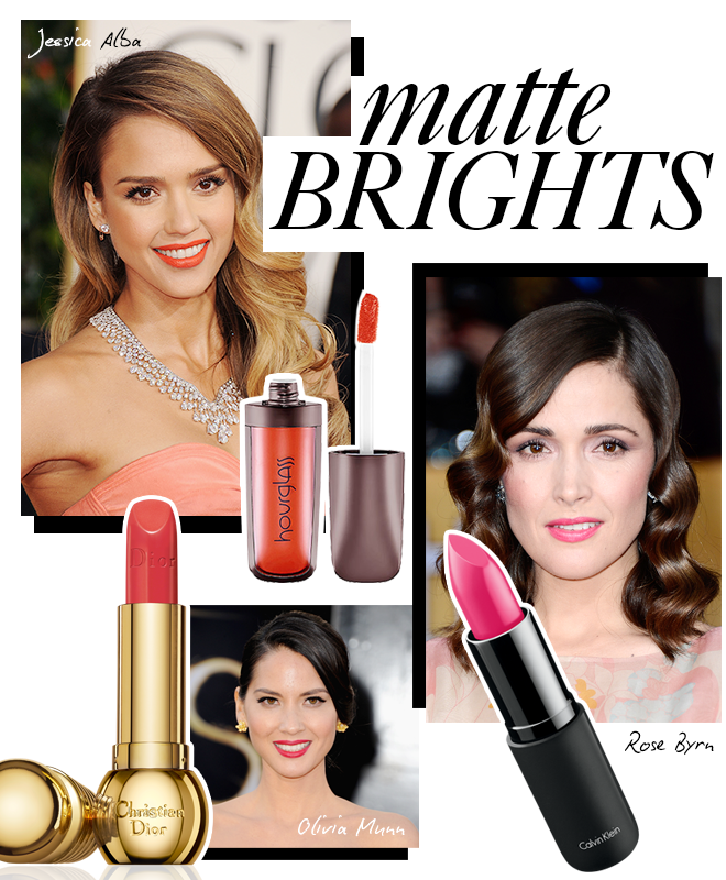 lip trends 2 4 Red Hot Lip Color Trends From The Red Carpet