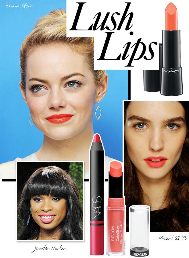 Spring beauty trend: lush lips