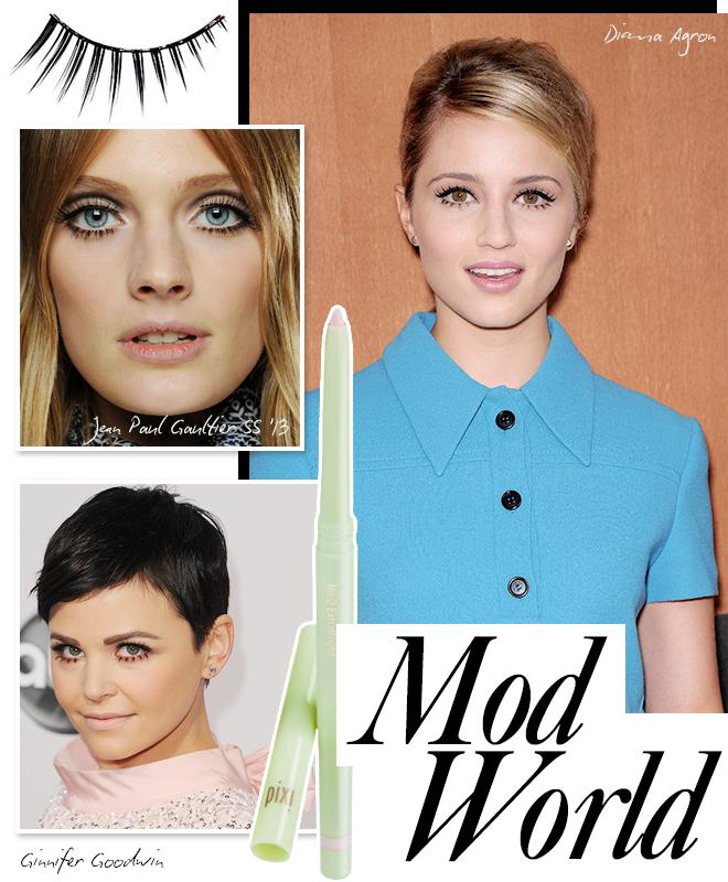 Spring beauty trend: mod world