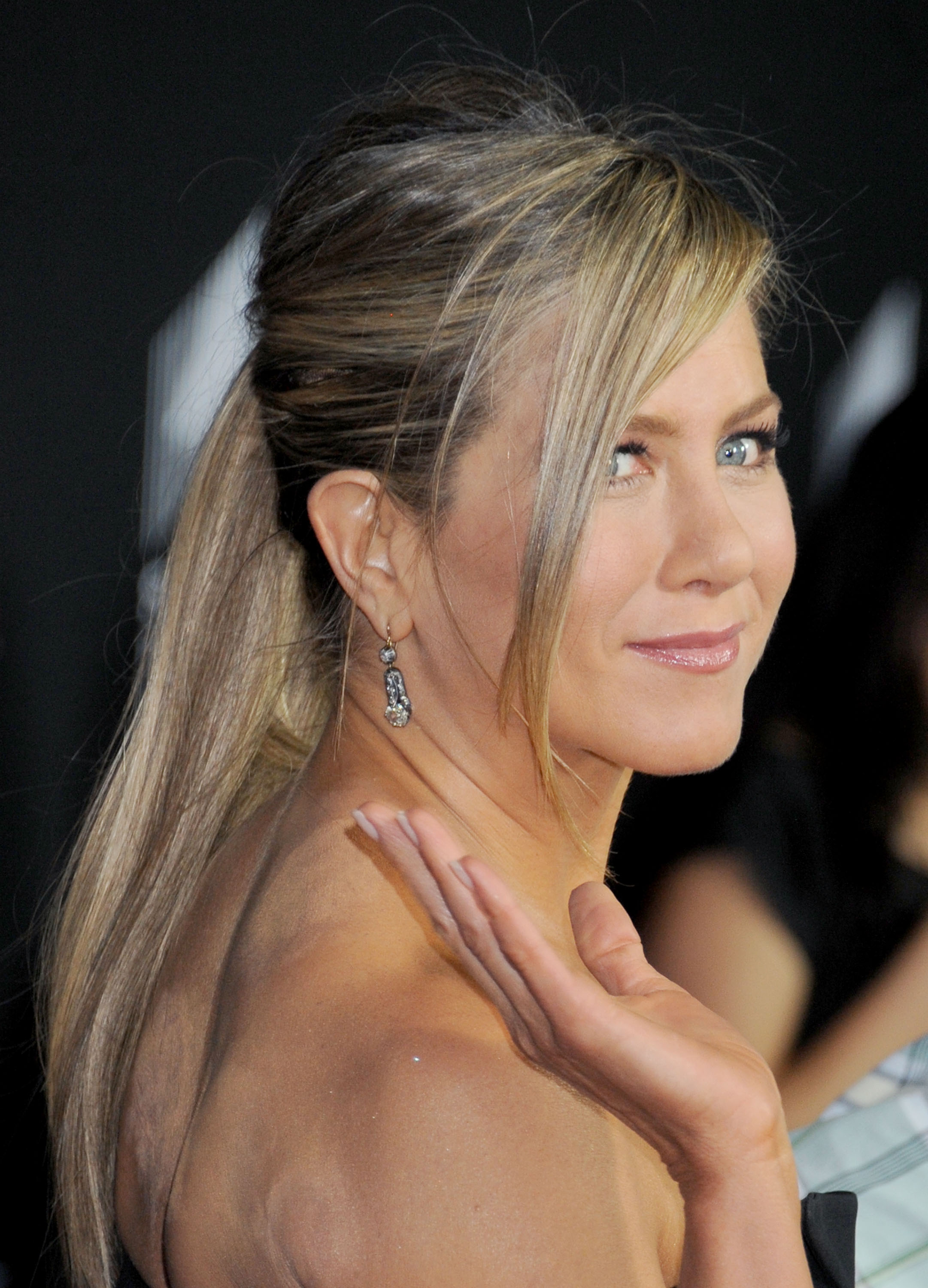 Jennifer Aniston's cupping marks