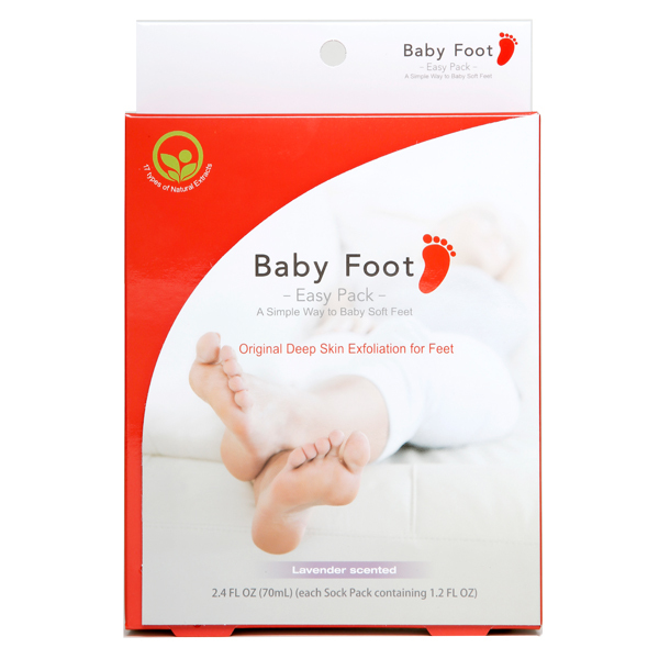 baby foot easy pack front This Foot Peel Will Change Your Life
