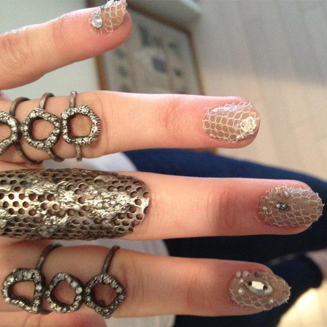 Emmy Rossum Met Gala Nails