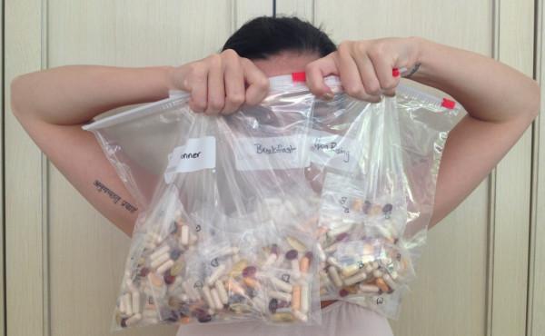 Katy Perry's vitamins