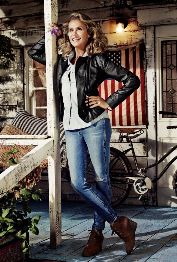 Lauren Hutton for Lucky Brand