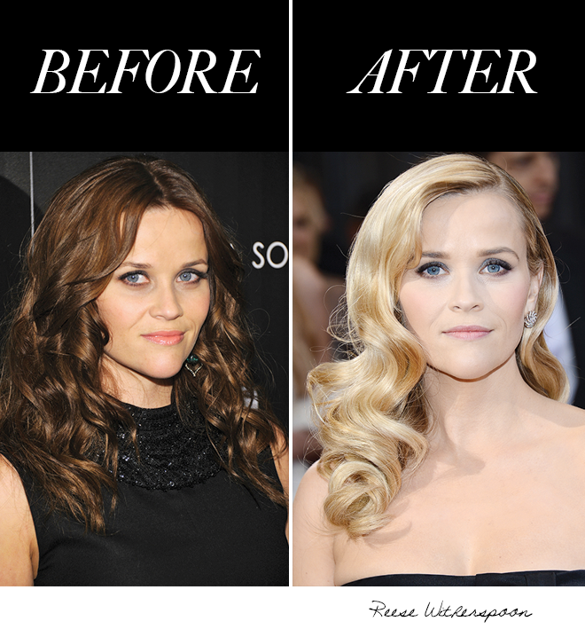 Photos Getty Imagesreese Recently Returned Back To Her Natural Blonde Hue After A Short Stint