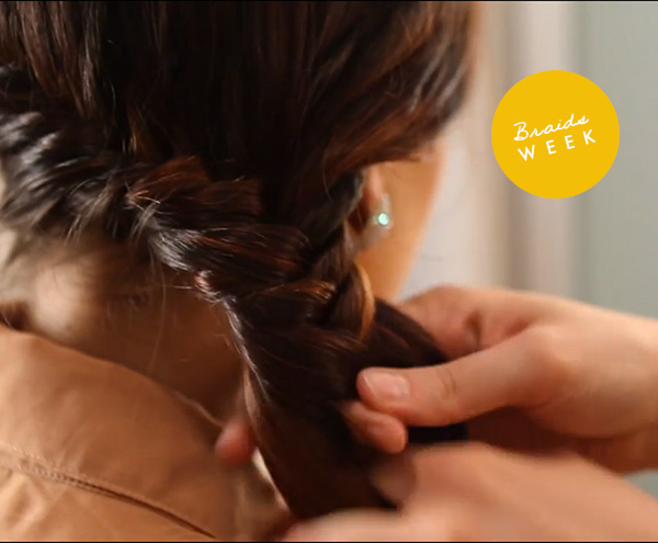 How to create a side fishtail braid