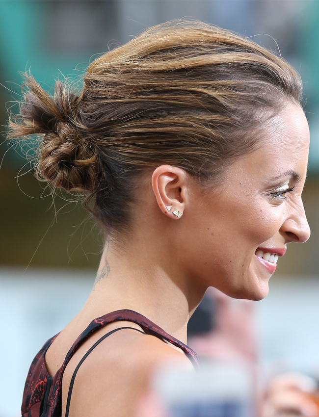 Nicole Richies Adorable High Bun Is Back (But She Did One