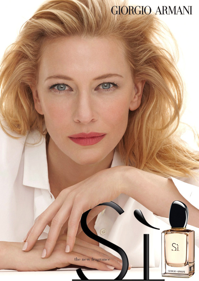 Cate Blanchett's new ad for Armani Sì