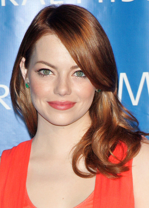 Red, like Emma Stone's, is the hardest dyed hue to maintain.Photo: Getty Images