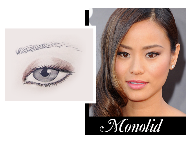 Makeup for monolid